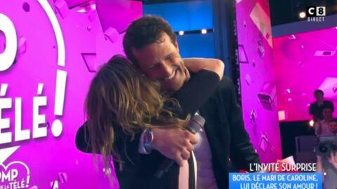 VIDEO Caroline Ithurbide: son mari fait une arrivée surprise dans TPMP pour la Saint-Valentin