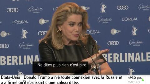 VIDEO Catherine Deneuve remet en place une journaliste qui tacle son dernier film