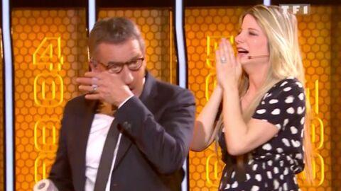 VIDEO Christophe Dechavanne ému aux larmes par deux candidates de The wall