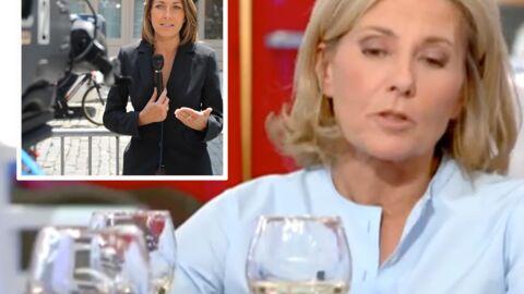 VIDEO Claire Chazal explique pourquoi elle ne regarde «pas beaucoup» les JT d'Anne-Claire Coudray