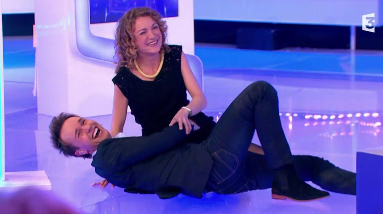VIDEO Cyril Féraud s'écroule en tentant le porté de Dirty Dancing avec une candidate de Slam