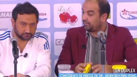VIDEO Cyril Hanouna annule son pari et reprend la présentation de Touche pas à mon poste