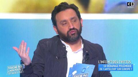 Cyril Hanouna défend Nicolas Canteloup après son gros dérapage et tacle Europe 1