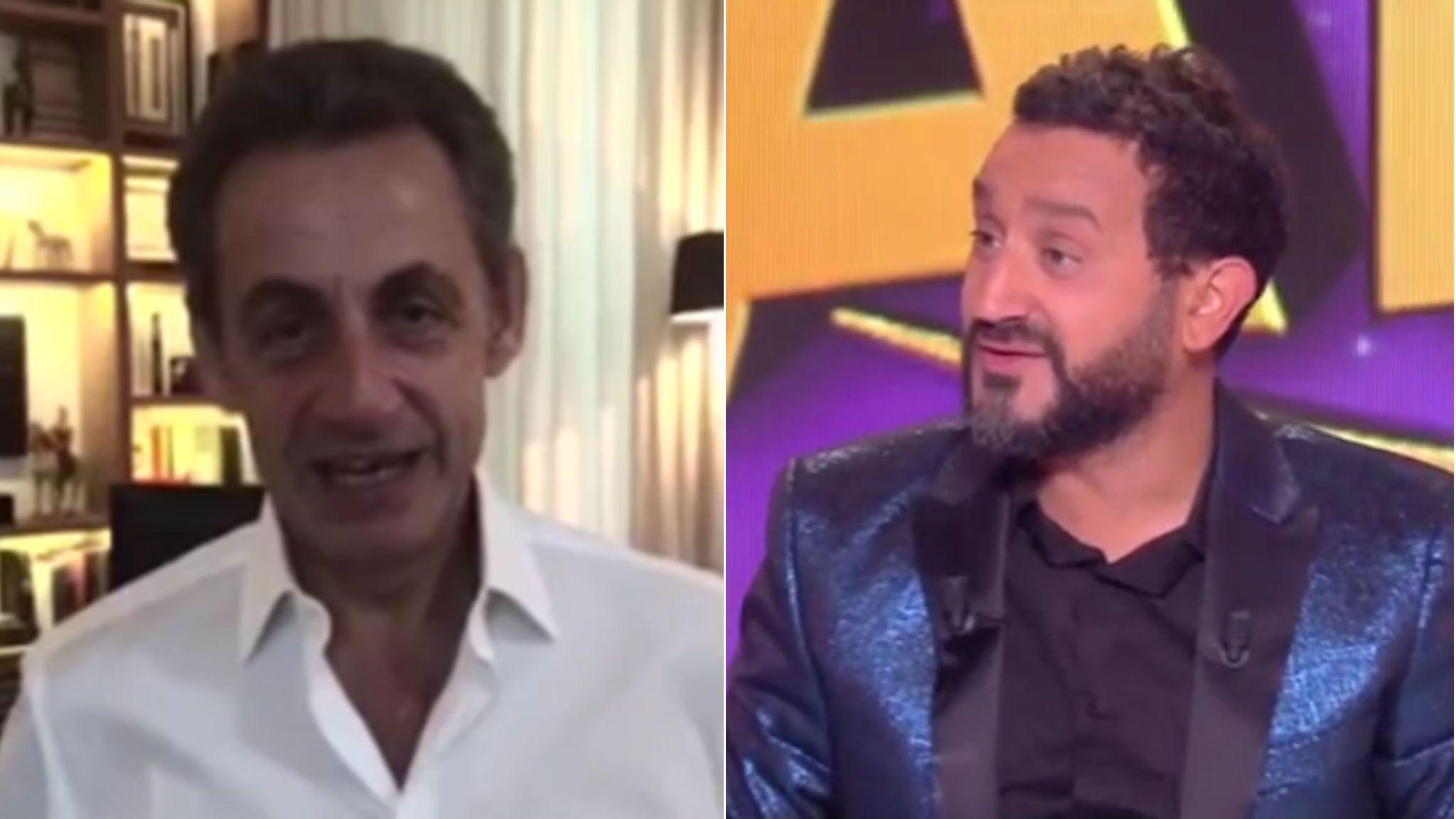 Video Cyril Hanouna Nicolas Sarkozy Lui Souhaite Un Joyeux