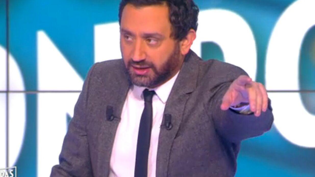 VIDEO Cyril Hanouna s'amuse des affaires de menaces qui planent sur lui