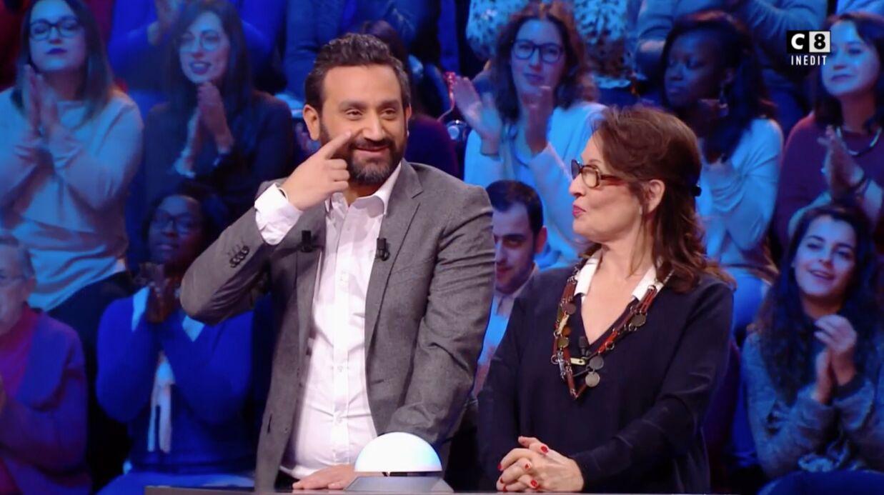 VIDEO Cyril Hanouna sous le charme d'une célèbre actrice de Premiers baisers