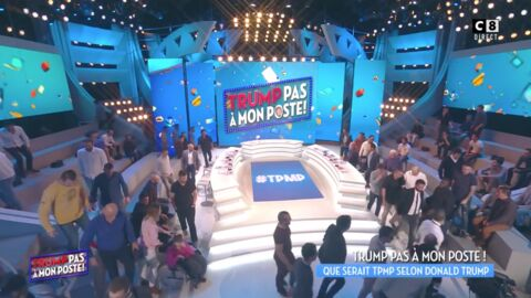 VIDEO Cyril Hanouna vide le plateau de TPMP pour dénoncer l'élection de Donald Trump
