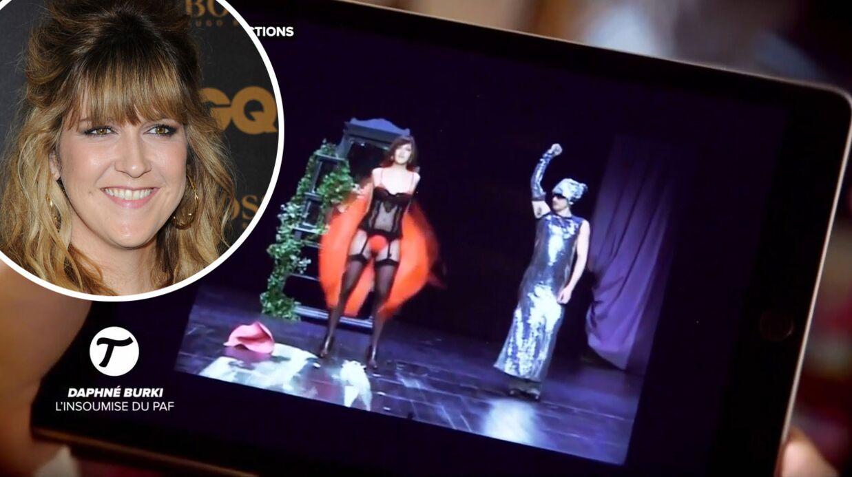VIDEO Daphné Bürki: son striptease sur scène, avant de faire de la télé