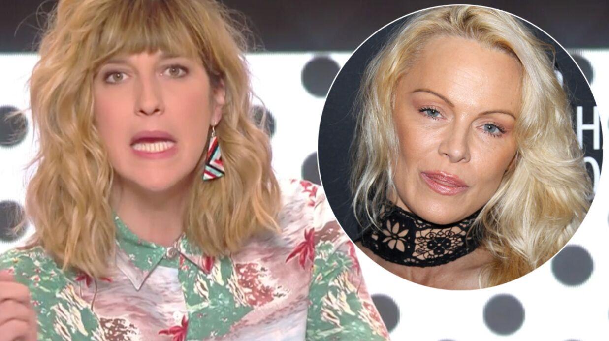 VIDEO Daphné Bürki ironise sur le changement de visage de Pamela Anderson