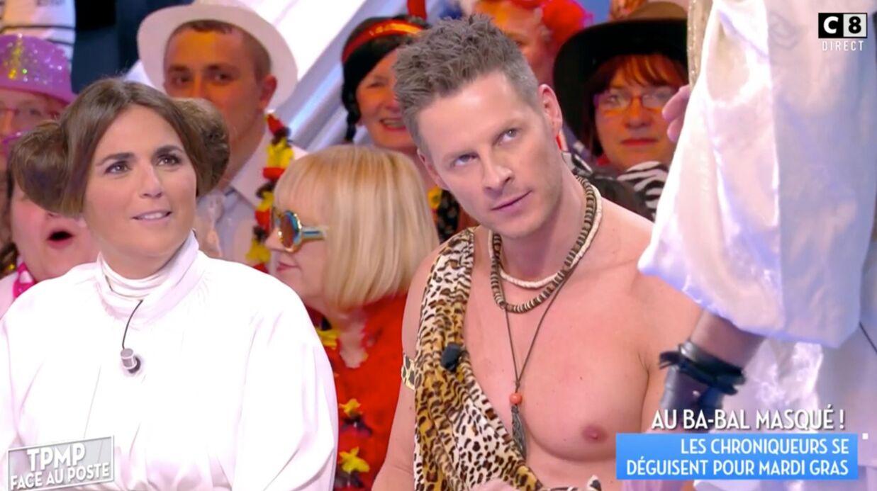 VIDEO (Dés)habillé en Tarzan, Matthieu Delormeau fait une proposition coquine à Cyril Hanouna