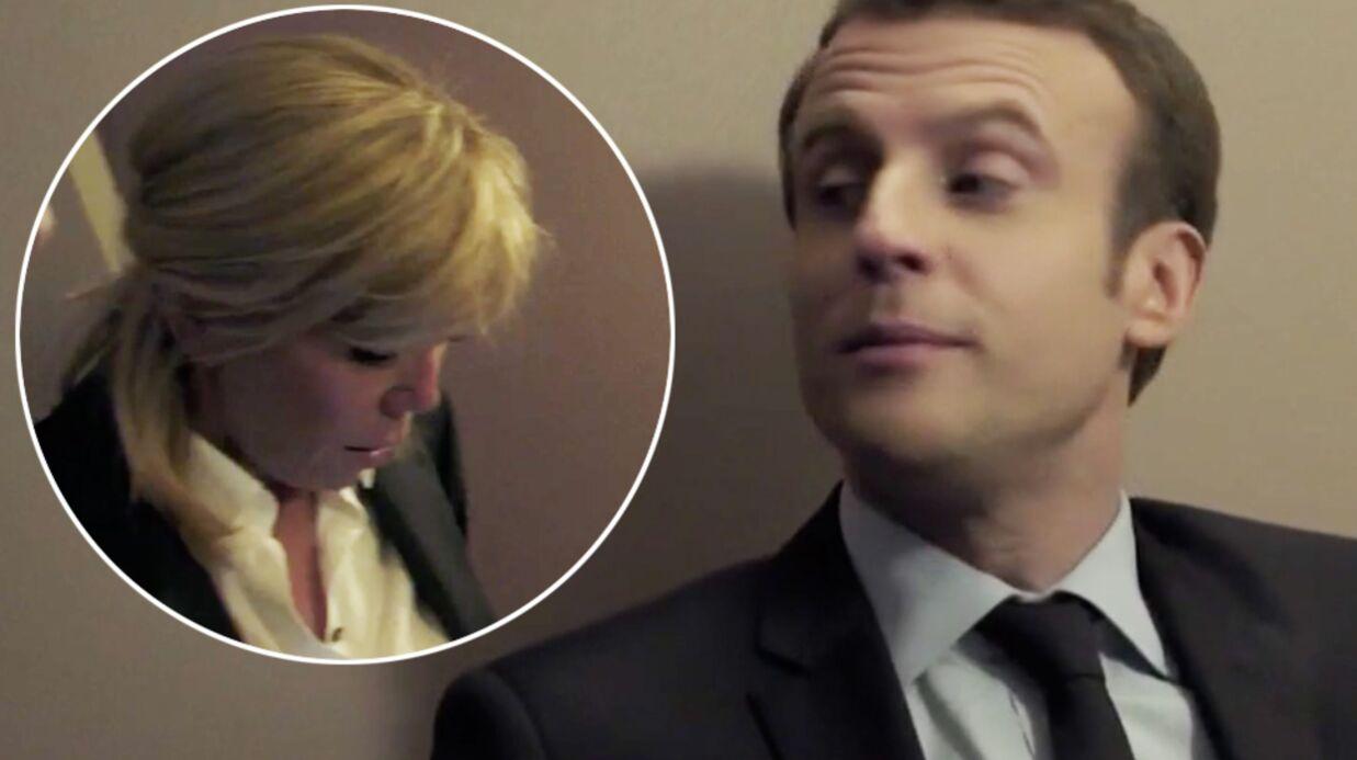 VIDEO Emmanuel Macron recadré par Brigitte sur une mauvaise habitude, il cède