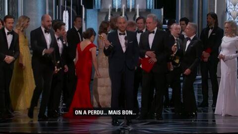 VIDEO Gros malaise aux Oscars: Faye Dunaway et Warren Beatty annoncent le mauvais vainqueur