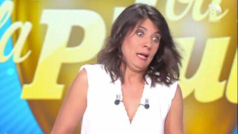 VIDEO Estelle Denis: son fils choqué par une blague sur Raymond Domenech dans un film