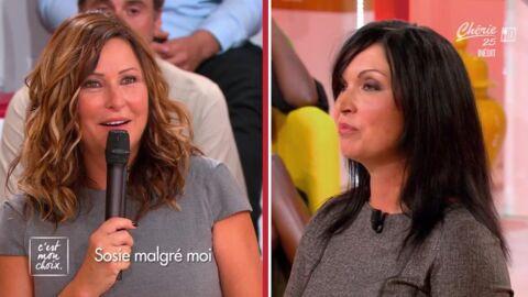 VIDEO Evelyne Thomas impressionnée par son sosie, Julie de L'amour est dans le pré
