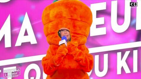 VIDEO Evelyne Thomas se déguise en carotte pour présenter TPMP (et c'est très gênant)