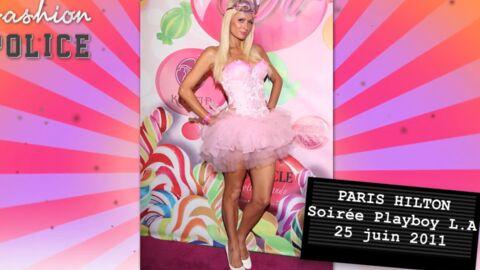 Fashion Police #1: Paris Hilton en tutu, Mareva Galanter rousse!