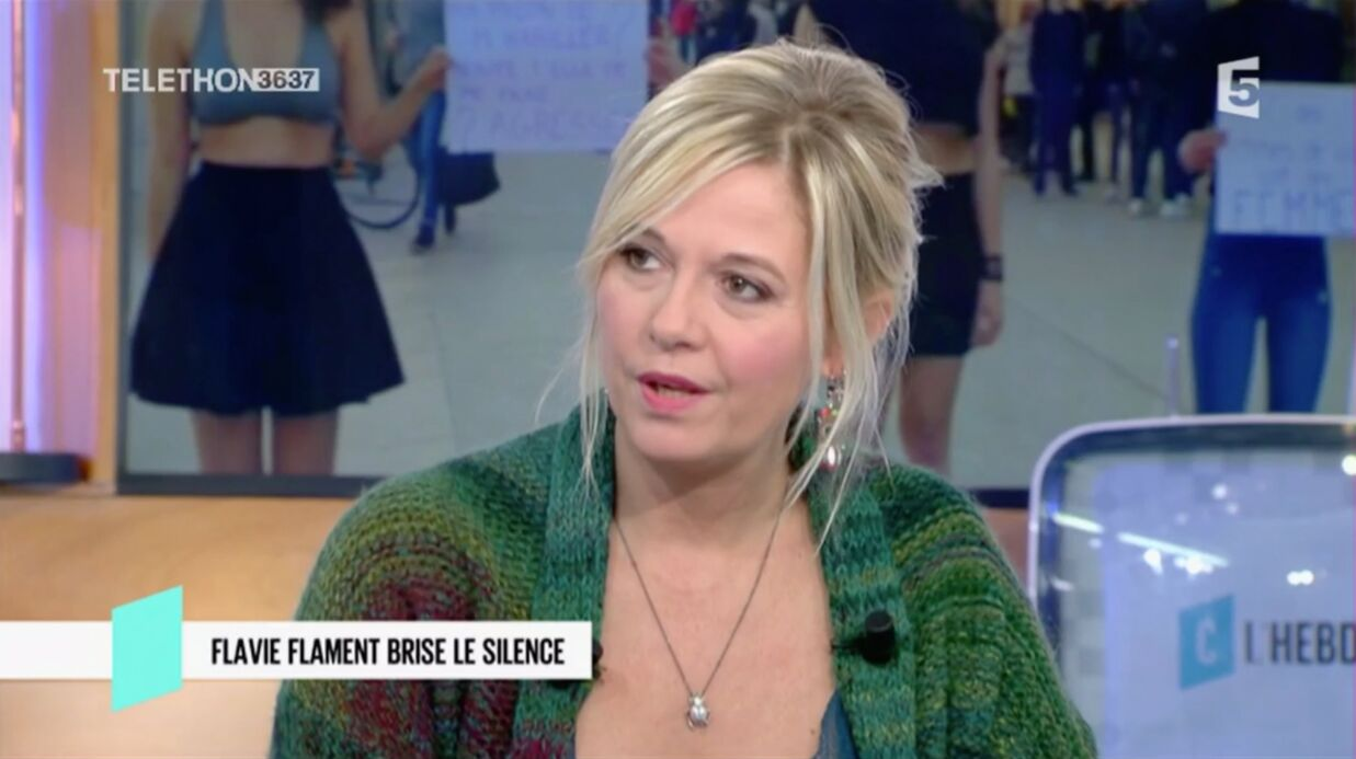 VIDEO Flavie Flament : accu­sée d'avoir causé la mort de David Hamil­ton, elle réplique