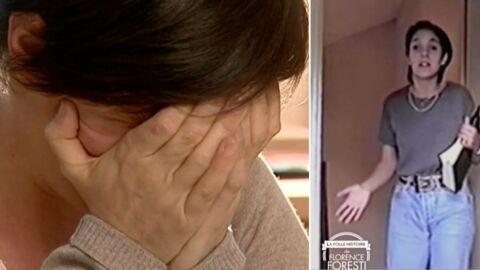 VIDEO Florence Foresti fond en larmes devant une vidéo d'elle adolescente