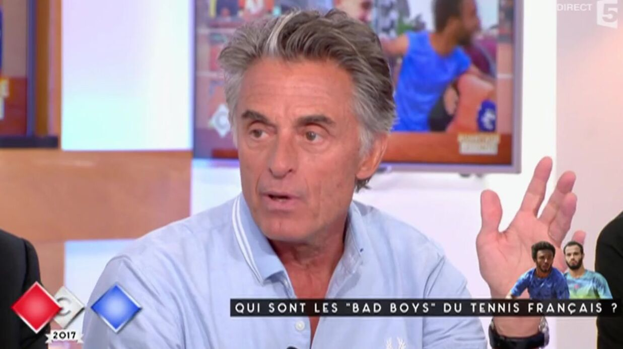 VIDEO Gérard Holtz défend Maxime Hamou, le tennisman qui a embrassé de force une journaliste