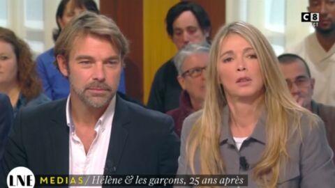 Patrick Puydebat et Hélène Rollès trouvent «un peu violent» de se voir vieillir à l'écran