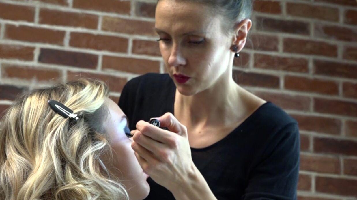 VIDEO Comment réussir un make-up de fête? Les conseils d'Elsa Durrens, make-up artist Chanel