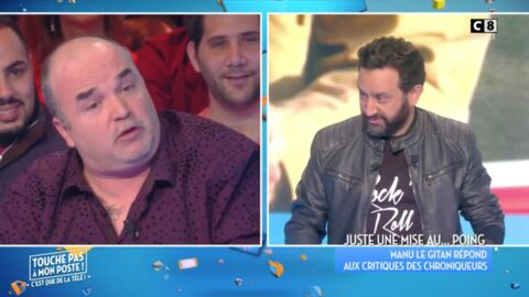VIDEO L'ancien braqueur Manu le Gitan énerve Cyril Hanouna