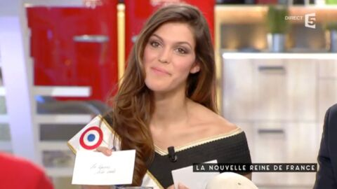 VIDEO Iris Mittenaere découvre en direct le pronostic de Sylvie Tellier pour Miss France 2016
