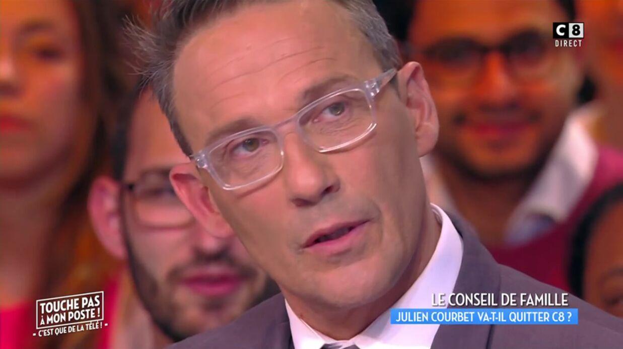VIDEO Julien Courbet annonce qu'il ne quittera pas TPMP et C8