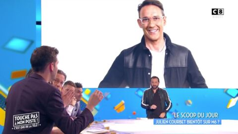 VIDEO Julien Courbet va peut-être quitter C8, Cyril Hanouna n'était pas au courant