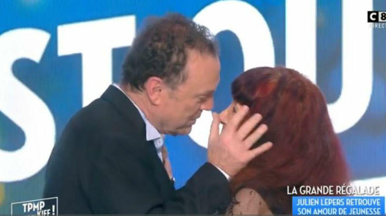 VIDEO Julien Lepers retrouve son premier amour Françoise et lui offre une danse
