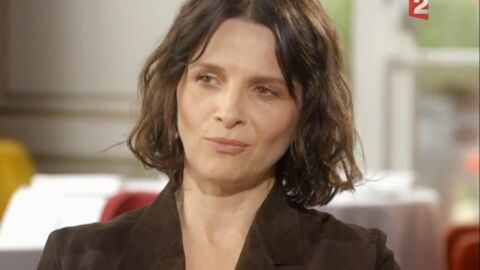 VIDEO Juliette Binoche évoque ses relations tendues avec Fabrice Luchini