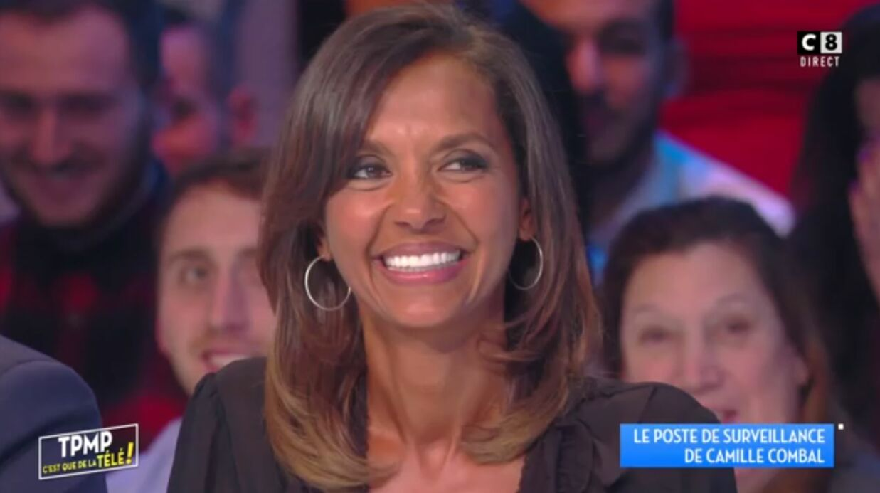 VIDEO Karine Le Marchand fait une blague salace à Camille Combal