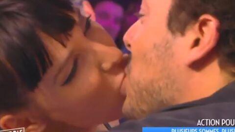 Kev Adams et Erika Moulet s'embrassent (presque par accident) dans Touche pas à mon poste