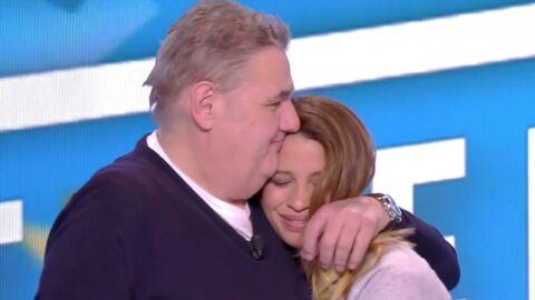 VIDEO Pierre Ménès: sa compagne Mélissa Acosta lui fait une belle déclaration d'amour en direct