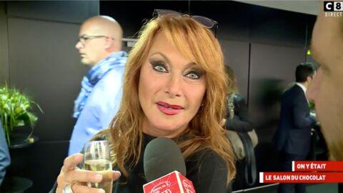 VIDEO La remarque très (trop) coquine de Julie Pietri au Salon du Chocolat