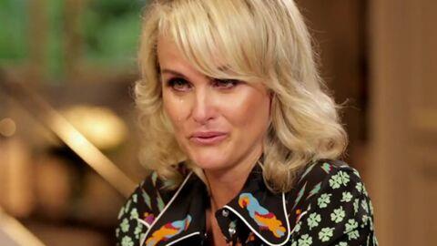 VIDEO Les larmes de Laeticia Hallyday en revoyant les images de l'adoption de Jade