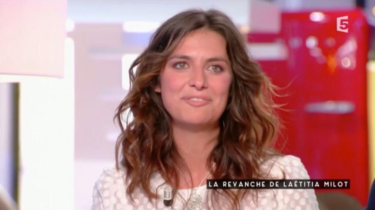 VIDEO Laetitia Milot très émue par un joli message de son mari