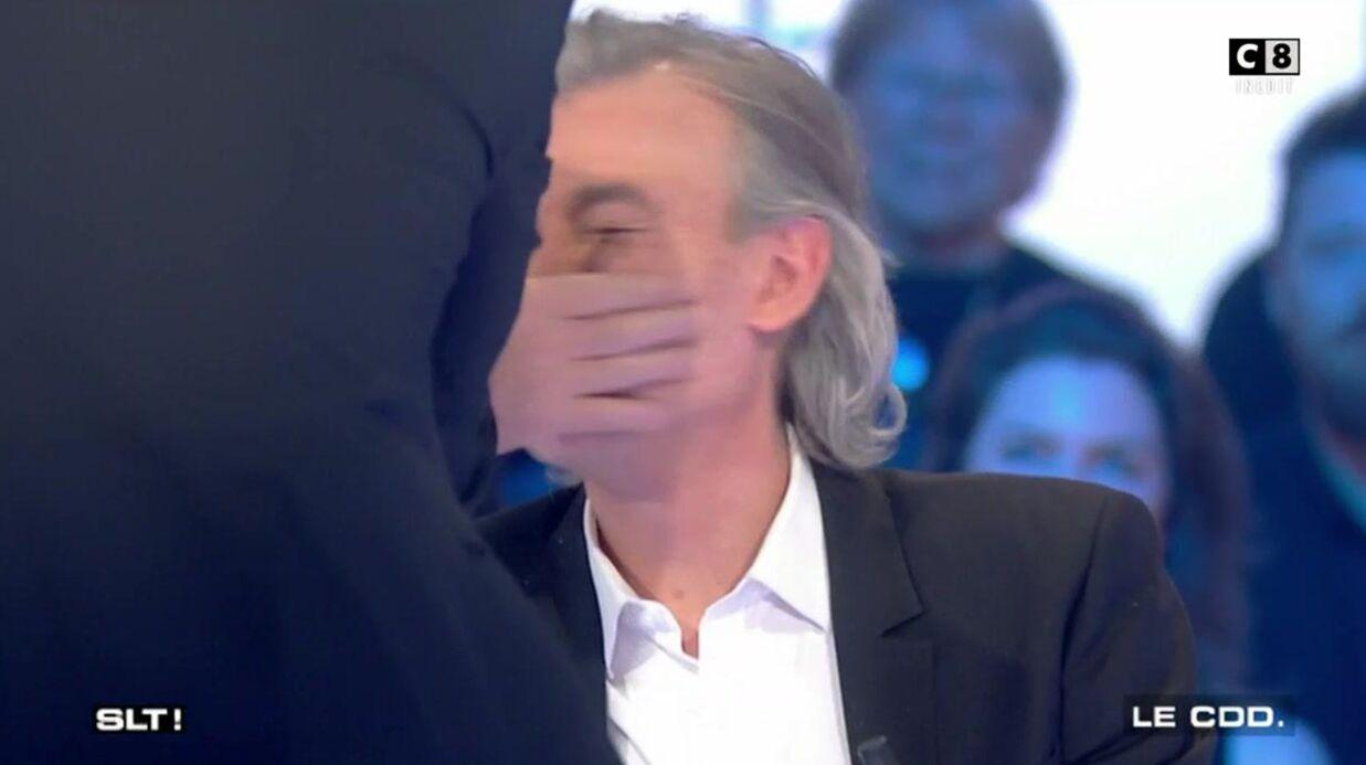 VIDEO Laurent Baffie met une claque à Gilles Verdez en pleine émission