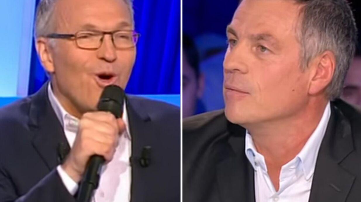 VIDEO Laurent Ruquier furax de se faire tacler par Bruno Gaccio dans On n'est pas couché