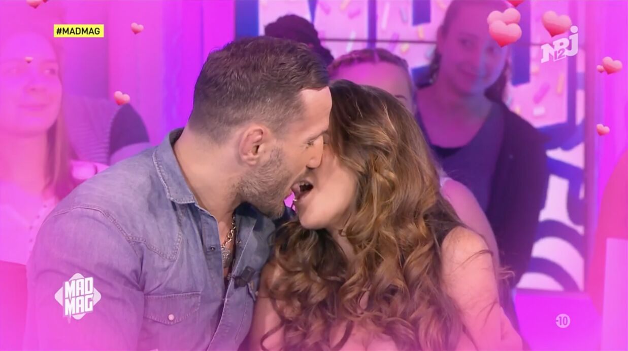 VIDEO Kim Glow et Sylvain Potard s'embrassent goulûment dans le Mad Mag