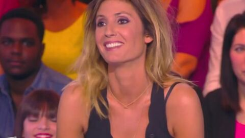 VIDEO TPMP Le combi-short de Caroline Ithurbide affole Julien Courbet et un spectateur
