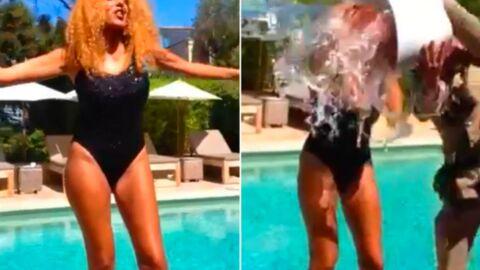 VIDEO Afida Turner dévoile son étonnant Ice Bucket Challenge