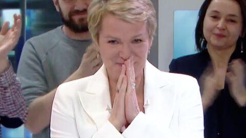 VIDEO Elise Lucet en larmes en quittant le JT de 13 Heures: son émouvant message