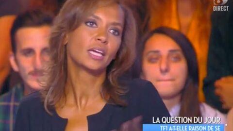 VIDEO Karine Le Marchand sans pitié pour Claire Chazal: son avis tranché