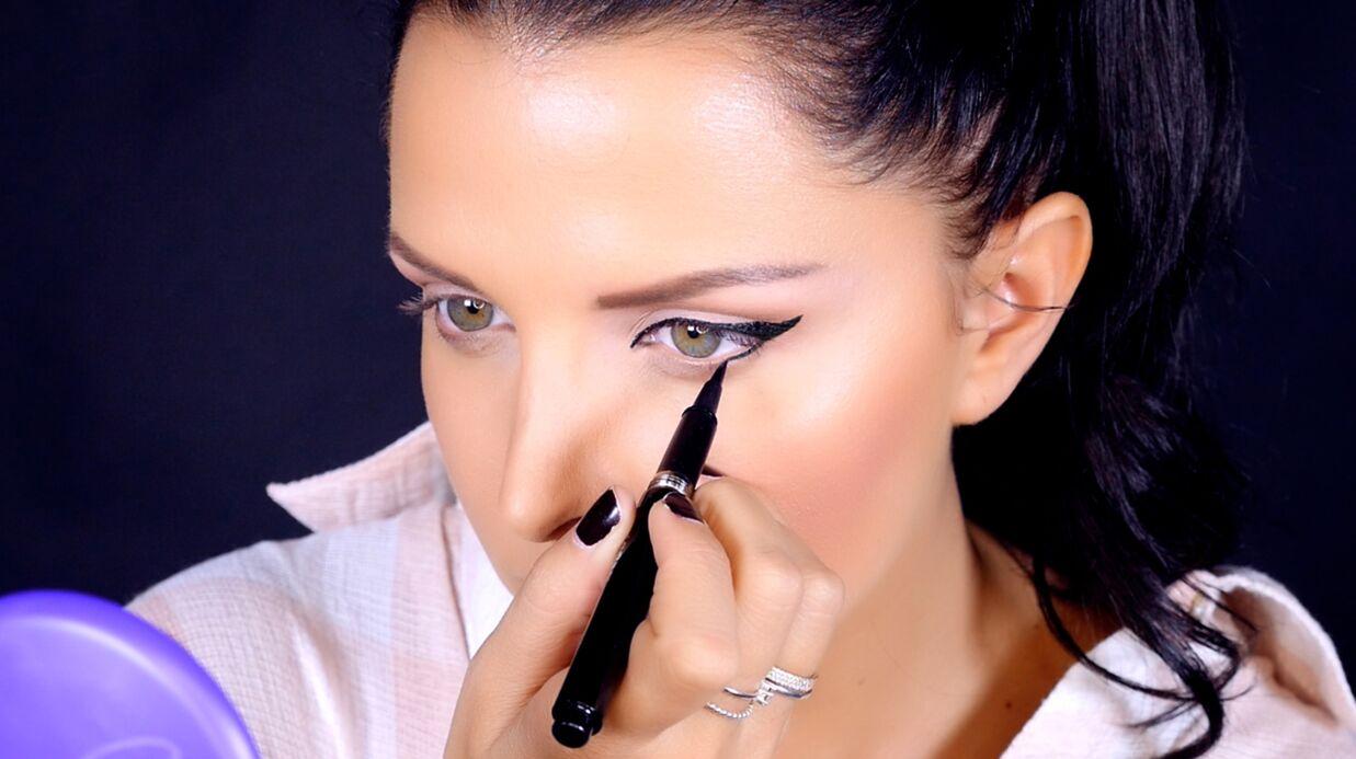 VIDEO Le tuto de Ludivine: maîtrisez le trait d'eye-liner à la perfection