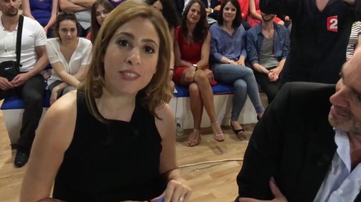 VIDEO Léa Salamé: Laurent Ruquier filme avec son iPhone les adieux de la chroniqueuse