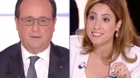 Les proches de François Hollande l'ont trouvé trop doux avec Léa Salamé: «Il aurait dû la moucher»
