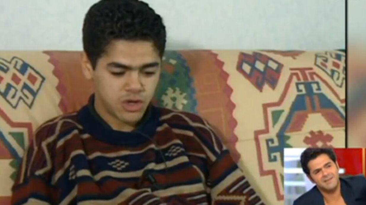 VIDEO Jamel Debbouze très ému par les images de sa première télé