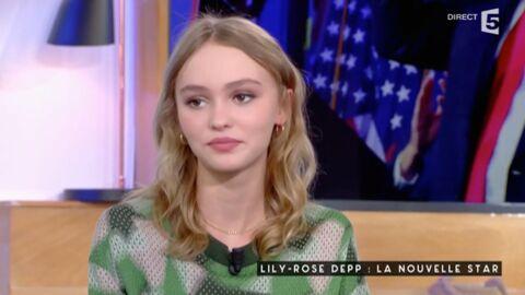 VIDEO Lily-Rose Depp réagit à la victoire de Donald Trump: «Je suis un peu dégoûtée»