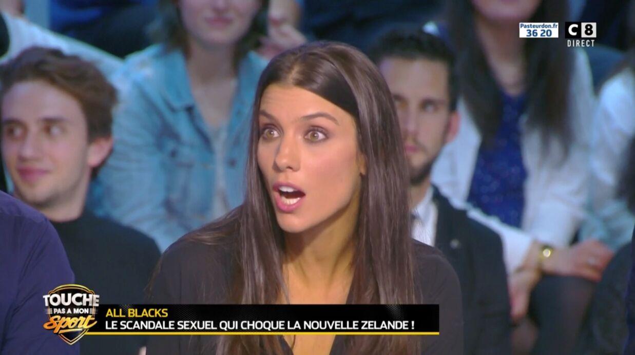 VIDEO Ludivine Sagna très mal à l'aise quand Estelle Denis lui demande si elle a déjà fait ça dans un aéroport
